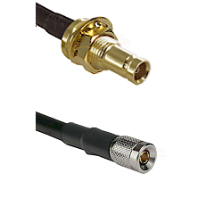 1.0/2.3 Female Bulkhead On LMR-195-UF UltraFlex to 1.0/2.3 Male Cable Assembly