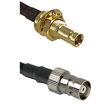 1.0/2.3 Female Bulkhead On LMR-195-UF UltraFlex to C Female Cable Assembly