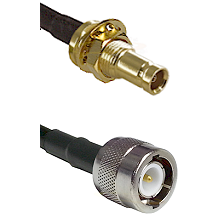 1.0/2.3 Female Bulkhead On LMR-195-UF UltraFlex to C Male Cable Assembly