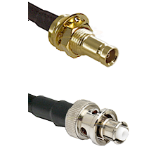 1.0/2.3 Female Bulkhead On LMR-195-UF UltraFlex to SHV Plug Cable Assembly