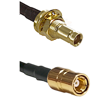 10/23 Female Bulkhead on RG142 to SMB Female Cable Assembly
