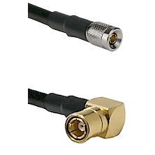 10/23 Male on LMR-195-UF UltraFlex to SMB Right Angle Female Cable Assembly