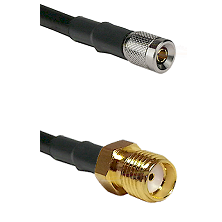 10/23 Male on LMR-195-UF UltraFlex to SMA Reverse Thread Female Cable Assembly