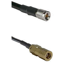 10/23 Male on LMR-195-UF UltraFlex to SLB Female Cable Assembly