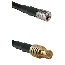 10/23 Male on RG58C/U to MCX Male Cable Assembly