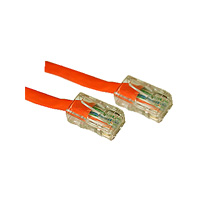 Category 5e 350mhz Patch Cables Without Boots Orange 98ft