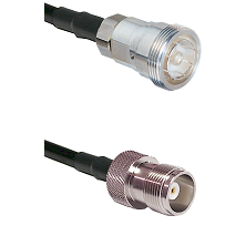7/16 Din Female Connector On LMR-240UF UltraFlex To HN Female Connector Cable Assembly