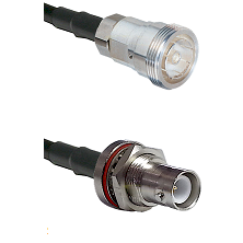 7/16 Din Female Connector On LMR-240UF UltraFlex To SHV Bulkhead Jack Connector Coaxial Cable Assemb