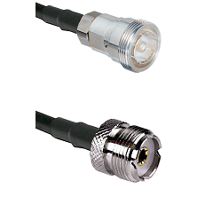 7/16 Din Female Connector On LMR-240UF UltraFlex To UHF Female Connector Cable Assembly