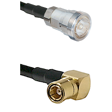 7/16 Din Female on RG400 to SMB Right Angle Female Cable Assembly