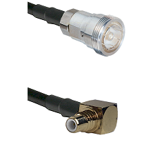 7/16 Din Female on RG400 to SMC Right Angle Male Cable Assembly