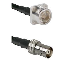 7/16 4 Hole Female on RG58C/U to C Female Cable Assembly