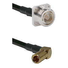7/16 4 Hole Female on RG58C/U to SLB Right Angle Female Cable Assembly