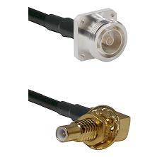 7/16 4 Hole Female on RG58C/U to SLB Male Bulkhead Cable Assembly