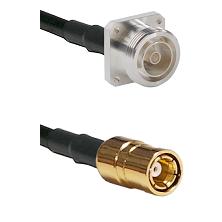 7/16 4 Hole Female on RG58C/U to SMB Female Cable Assembly