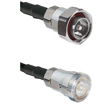 7/16 Din Male on RG58C/U to 7/16 Din Female Cable Assembly