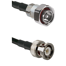 7/16 Din Male on RG58C/U to BNC Male Cable Assembly
