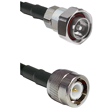 7/16 Din Male on RG58C/U to C Male Cable Assembly