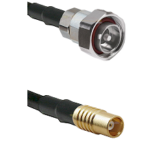 7/16 Din Male on RG58C/U to MCX Female Cable Assembly