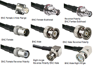 BNC RG-400 M17/128 Cable Assembly