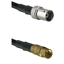 BNC Female To MMCX Female Connectors RG178 Cable Assembly