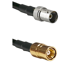 BNC Female To SMB Female Connectors RG178 Cable Assembly