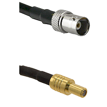 BNC Female on RG400 to SLB Male Cable Assembly