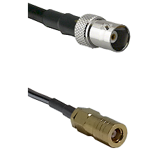BNC Female on RG58C/U to SLB Female Cable Assembly