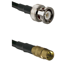 BNC Male on LMR100 to MMCX Female Cable Assembly
