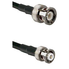 BNC Male on LMR200 UltraFlex to MHV Male Cable Assembly