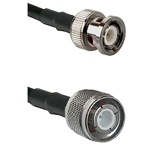 BNC Male Connector On LMR-240UF UltraFlex To HN Male Connector Cable Assembly