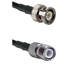 BNC Male on LMR240 Ultra Flex to TNC Reverse Polarity Female Cable Assembly