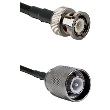 BNC Male Connector On LMR-240UF UltraFlex To SC Male Connector Cable Assembly