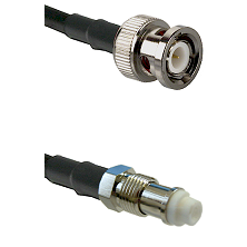 BNC Male On LMR400UF To FME Jack Connectors Ultra Flex Coaxial Cable