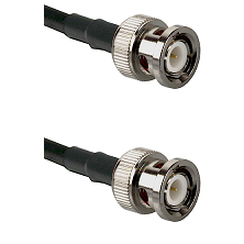 BNC Male To BNC Male Connectors RG178 Cable Assembly