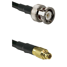 BNC Male On RG223 To MMCX Male Connectors Coaxial Cable