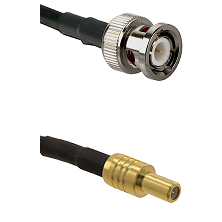 BNC Male on RG400 to SLB Male Cable Assembly