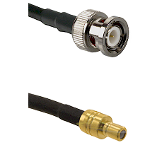 BNC Male On RG400 To SMB Plug Connectors Coaxial Cable