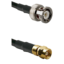 BNC Male on RG400 to SMC Female Cable Assembly