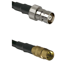 C Female on LMR100 to MMCX Female Cable Assembly