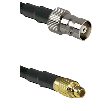 C Female on LMR100 to MMCX Male Cable Assembly