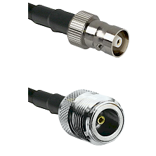 C Female on LMR100 to N Female Cable Assembly
