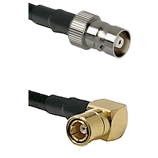 C Female on LMR100 to SMB Right Angle Female Cable Assembly