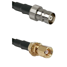 C Female on LMR100 to SMC Female Bulkhead Cable Assembly