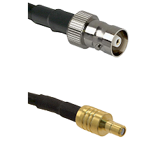 C Female on LMR100 to SSMB Male Cable Assembly