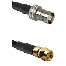 C Female on LMR-195-UF UltraFlex to SMC Male Cable Assembly