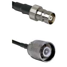 C Female Connector On LMR-240UF UltraFlex To SC Male Connector Cable Assembly