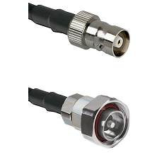 C Female on RG142 to 7/16 Din Male Cable Assembly