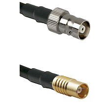 C Female on RG142 to MCX Female Cable Assembly