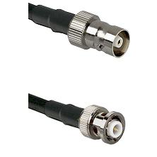 C Female on RG400 to MHV Male Cable Assembly